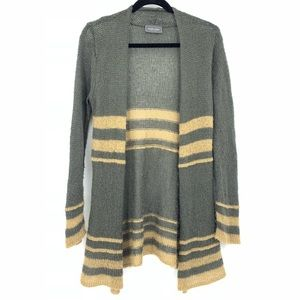 Wooden Ships Open Front Mohair Cardigan
